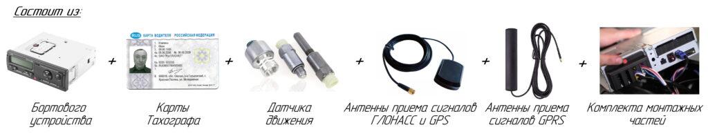 Состав тахографа